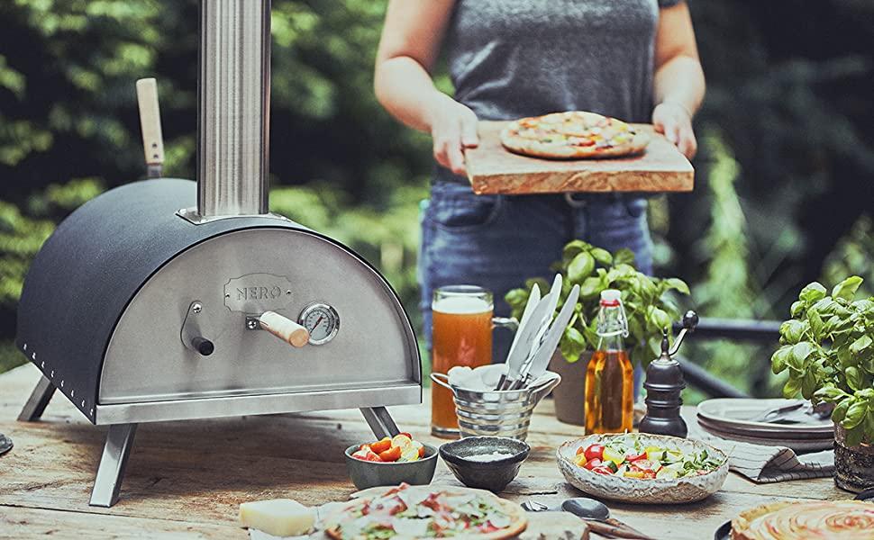 ¡Fácil de trasportar! Disfrute de las mejores pizzas en cualquier lugar!