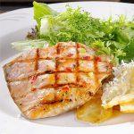 receta salmon al horno,salmon al horno con alioli